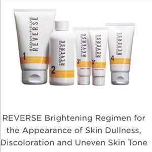 Rodan+Fields Reverse kit brightening uneven skin